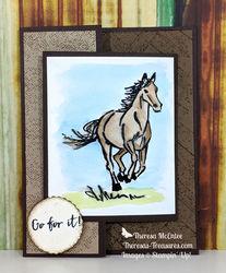 Horse tin 2 wm