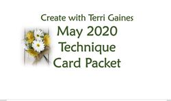 Technique card packet