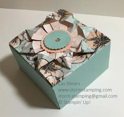 Teabag fold box