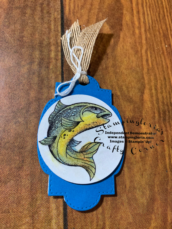 Best catch fish bookmark