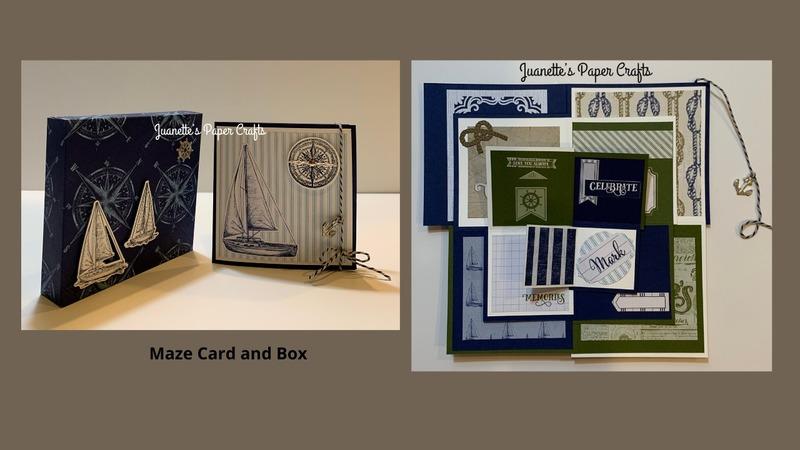 Maze card and box