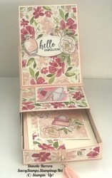 Easel card with draw with the best dress suite