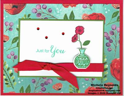 Vibrant vases poppy vase watermark