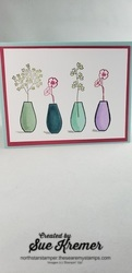 Blends  4 vases