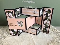 4 magnolia tri fold shutter card pic