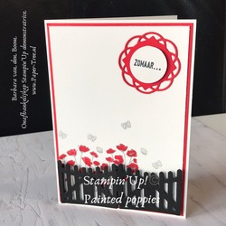paintedpoppies  stampinup  1