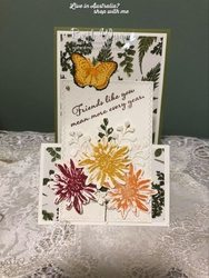 5 morning class easel fold card
