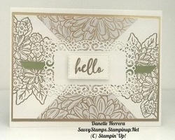 Hello! ornate garden suite gold