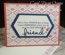 Stampin up thanks for the laughs carolpaynestamps1