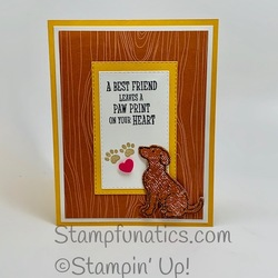 Happy tails dog sympathy card