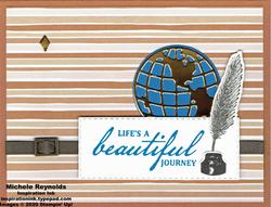 Beautiful world cider stripe journey watermark