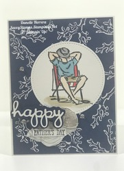 Happy father s day  a good man and sea seaside notions stamp sets