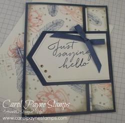 Stampin up tasteful touches one sheet wonder carolpaynestamps1