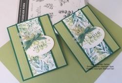 Forever fern split card  2