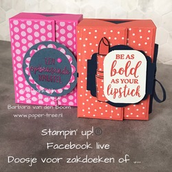 stampin up  livevideo   2