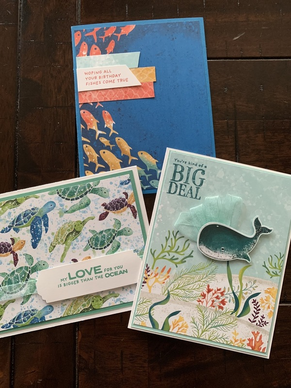 Whale done cards