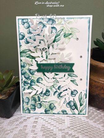 Forever fern card june 2020