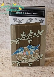 Birds   branches nest avid stamper