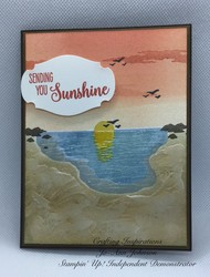 Stampin up sending sunshine card