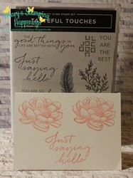 simplestamping tasteful touches flower