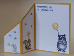 Card front inside