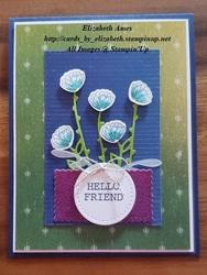 Hello friend a in bloom wm