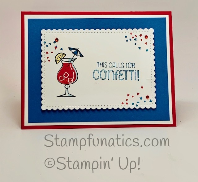 Nothing s better than adn so sentimental 4th of july card and more de stash