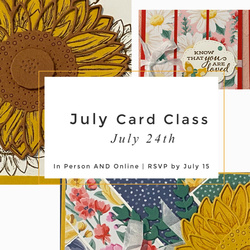 July 2020 card class facebook post
