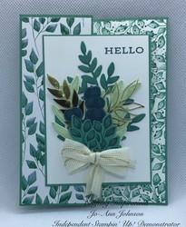 Hello forever fern card
