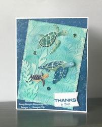 Save the sea turtles  whale of a time suite and water coloring