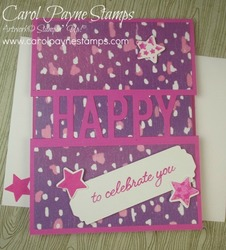 Stampin up so much happy carolpaynestamps2