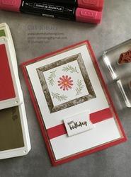 Framed for you card