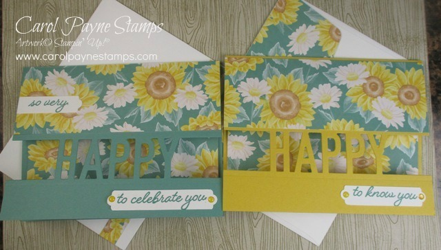 Stampin up so much happy carolpaynestamps1 2