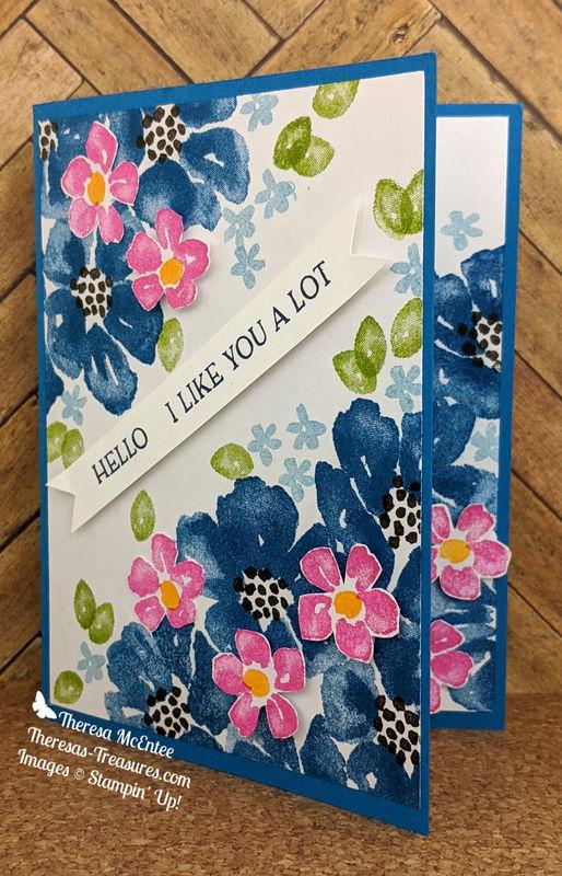 A blue flowers straight open wm