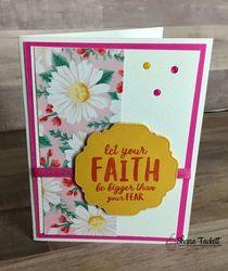 Faith   floral
