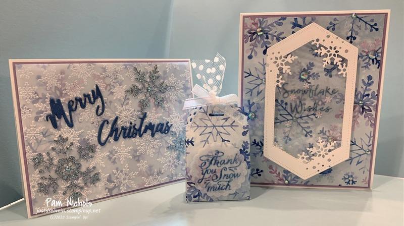 Snowflake shaker card3