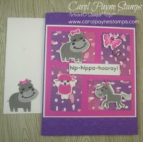 Stampin up hippo happiness carolpaynestamps2