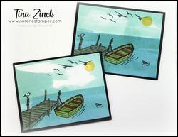 By the dock quick cards tina zinck
