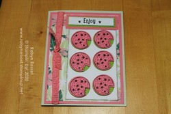 Watermellon cookies 3