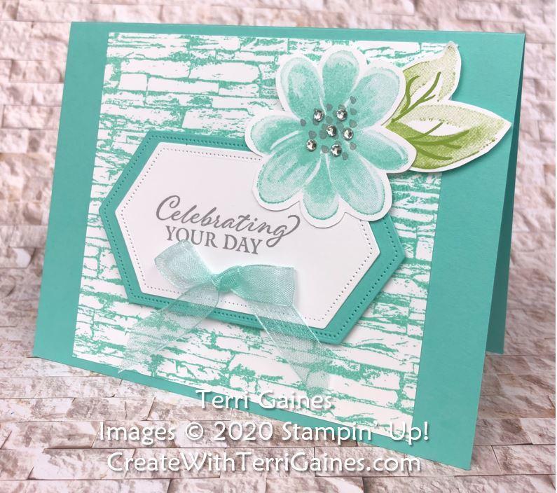 Gorgeous posies card   1