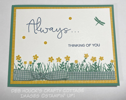 Field of flowers   card 1   7 21 2020