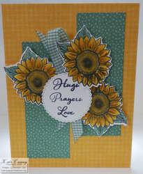 Celebrate sunflowers tasteful labels