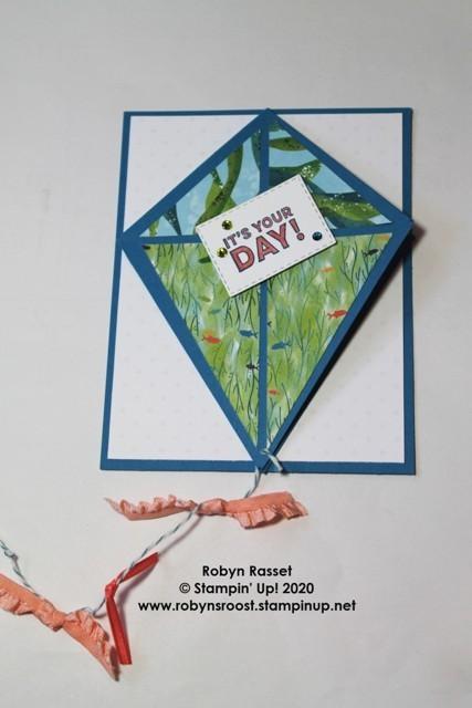 Kite card tall