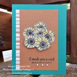 Amanda   i made you a card