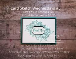 Card sketch wednesdays  5 wm