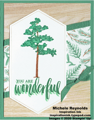 Rooted in nature wonderful pine watermark