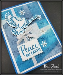 Dove of hope stampin up tina zinck block background technique serene stamper