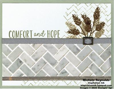 Comfort   hope wheat wall watermark