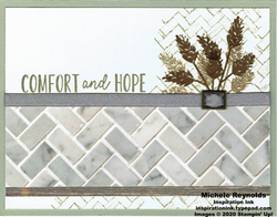 Comfort   hope wheat wall watermark