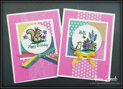 Mystery stamping hour tina zinck serene stamper grace s garden someone special stampin up